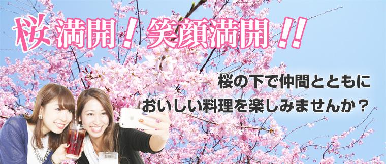 PARTYTIMES お花見特集!!